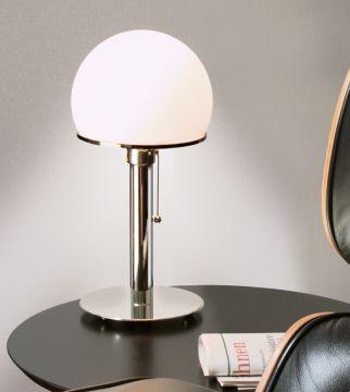 wagenfeld wg24 original con tenolumen. Black Bedroom Furniture Sets. Home Design Ideas